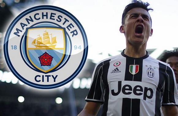 Manchester City Mengajukan Penawaran Besar Untuk Dybala