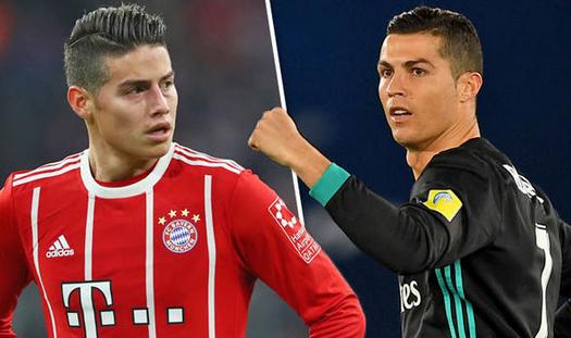 Ronaldo Rekomendasikan James Rodrigues Ke Juventus