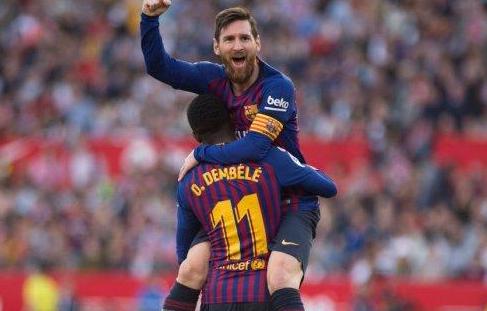 Messi Hattrick on Sevilla