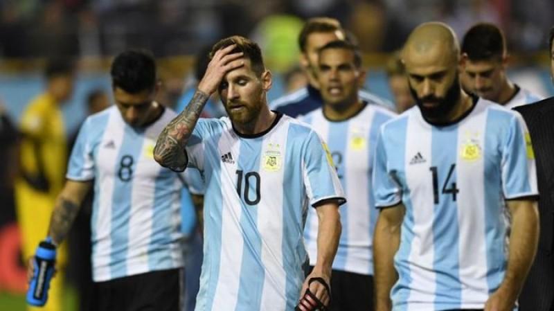 Argentina kalah dari Venezuela di panggung internasional pertama sejak Piala Dunia