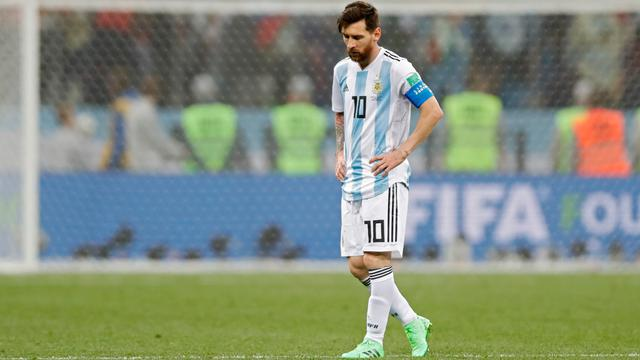 Messi dalam pemilihan kehadirannya di Argentina