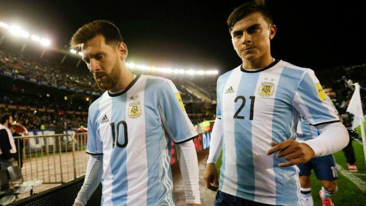 Messi dan Dybala bisa bermain bersama untuk Argentina - Scaloni