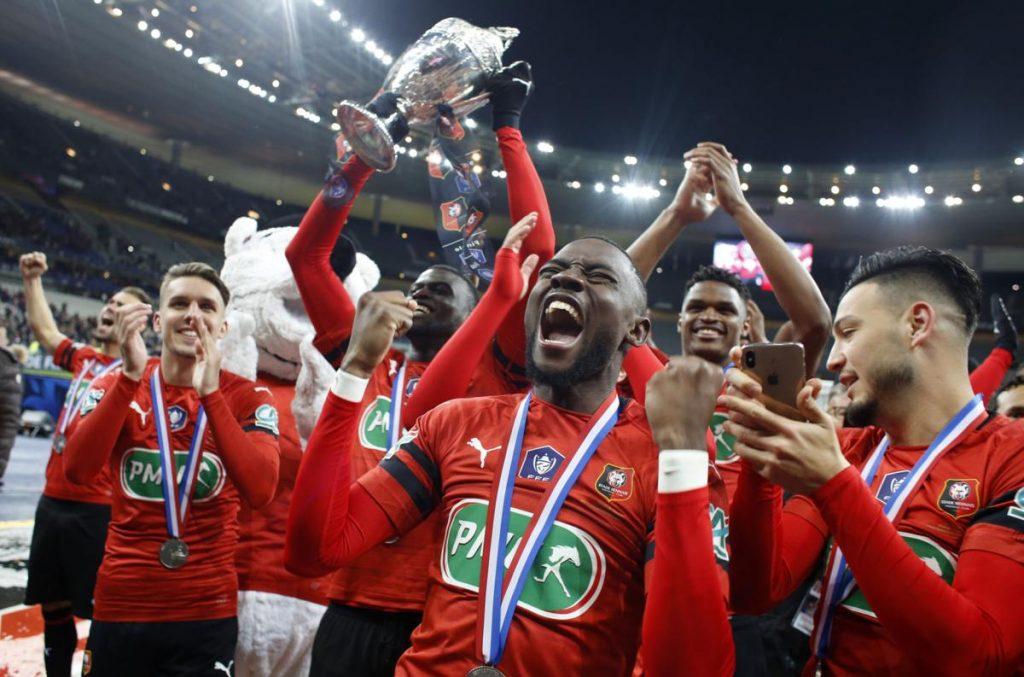 Taklukkan PSG, Rennes Juarai Coupe de France