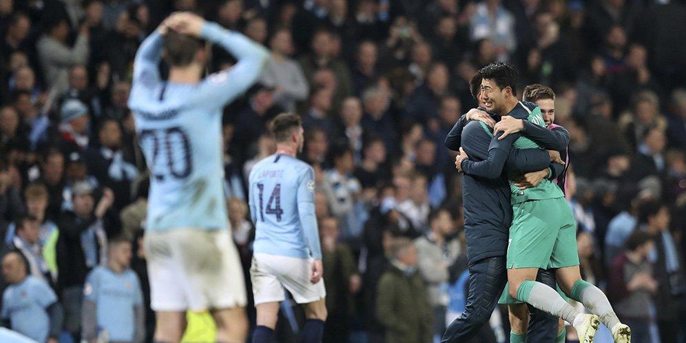 7 Gol Tercipta Dalam Leg Kedua Manchester City Vs Tottenham