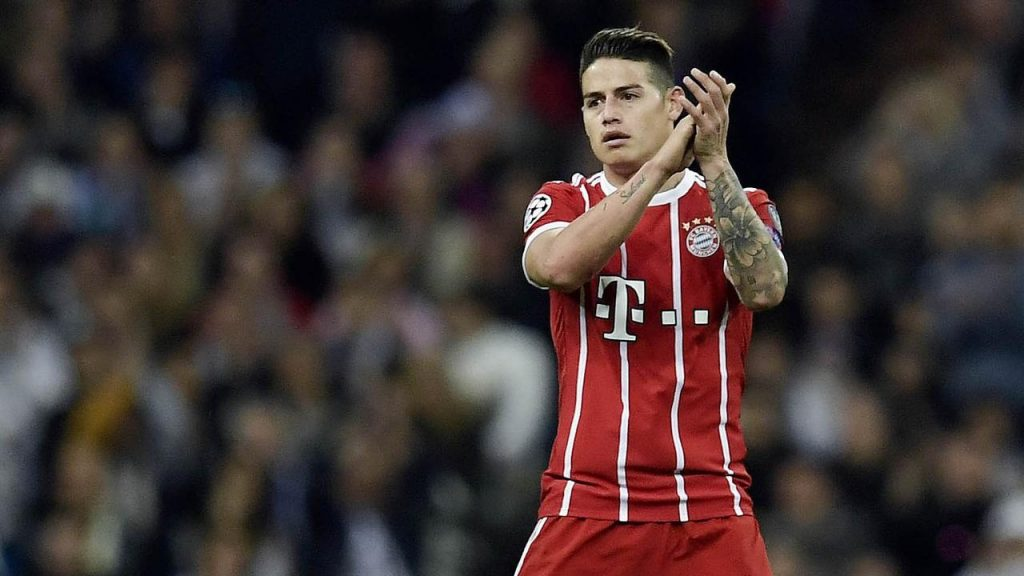 Direktur olahraga Bayern Munchen, Hasan Salihamidzic, masih belum bisa memastikan mengenai masa depan James Rodriguez di Bayern Munchen