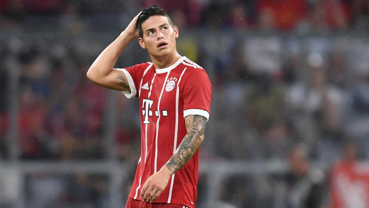 Masa Depan James Rodriguez Ditentukan Setelah DFB Pokal