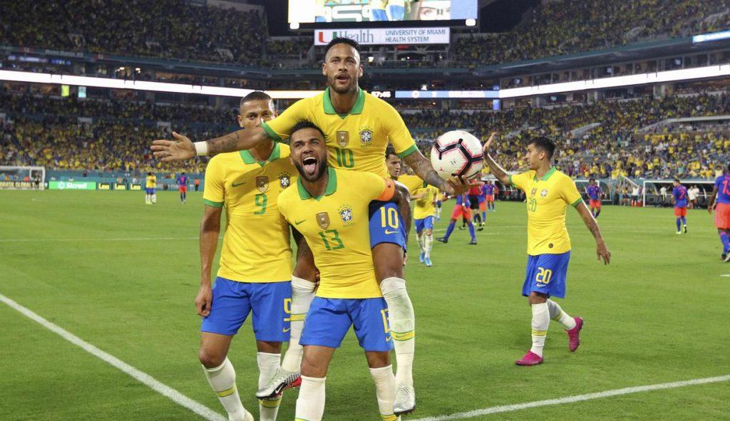 Neymar Mencetak Goal Comeback untuk Brasil Melawan Kolombia