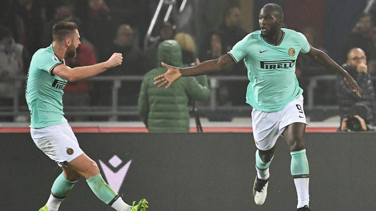 Striker Lukaku Kembali Cetak Dua Goll Untuk Inter Milan Saat Menghadapi Club Bologna
