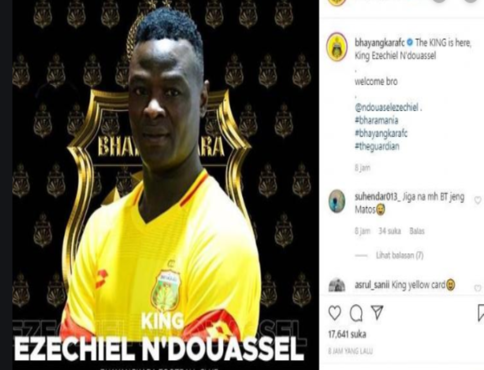Bhayangkara FC Akan Hadirkan Ezechiel Ndouassel