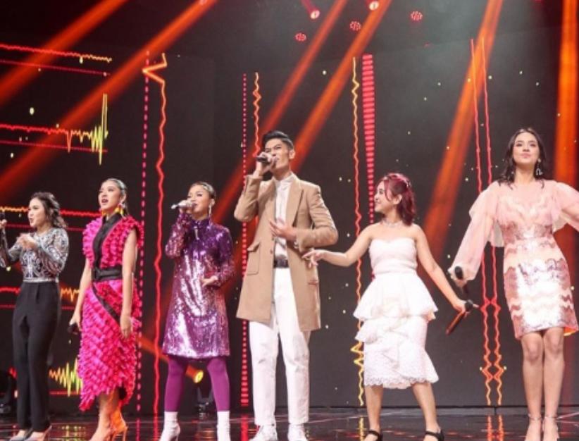 Ziva Magnolya Duet dengan Maia Estianty di Babak 5 Besar Indonesian Idol
