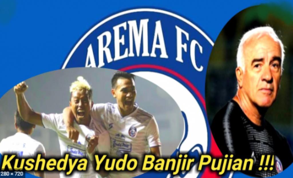 Borong Gol Arema FC ke Gawang PS TIRA-Persikabo, Kushedya Yudo Banjir Pujian