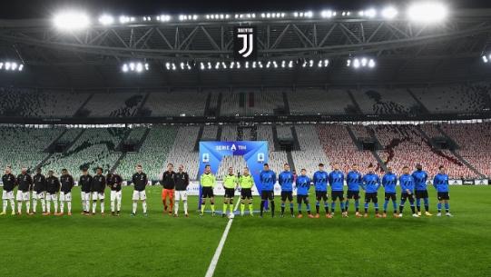 Laga Juventus Lawan Inter Milan Tanpa Penonton