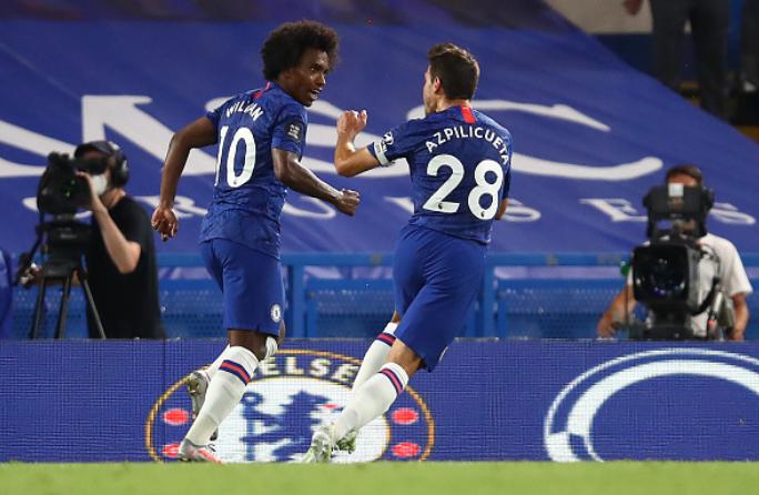 Chelsea vs Man City, Gol Pulisic Dan Willian Buat Liverpool Klaim Mahkota Liga Premier Pertama