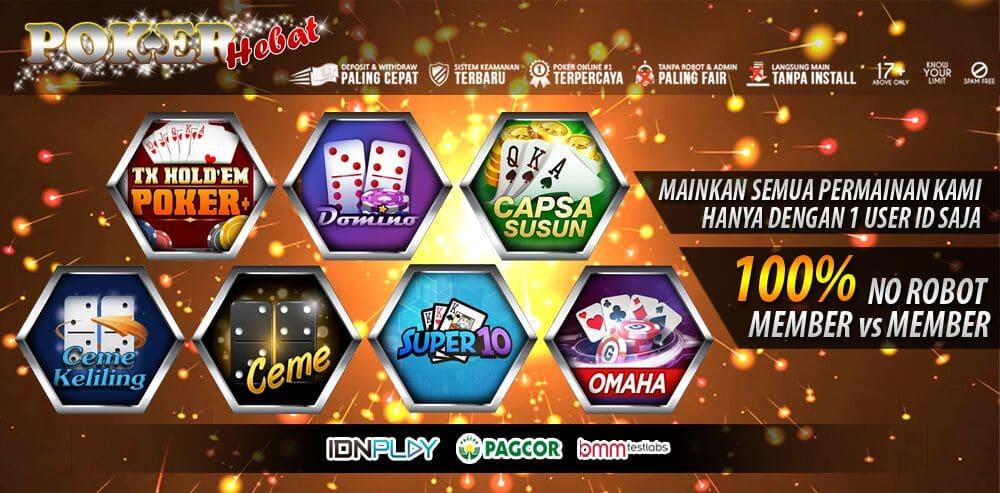 Daftar Idn Poker Tercepat Hanya Di Situs Pokerhebat
