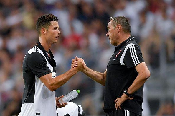 Ada Campur Tangan CR7 dalam Membuat Keputusan Juventus Memecat Maurizio Sarri