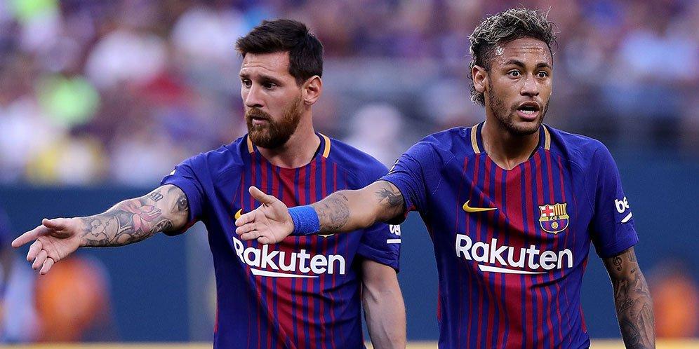 Messi Saat ini Ingin Bermain Bersama Neymar di Paris Saint Germain