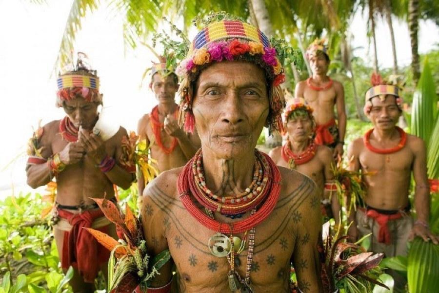 Seni Tato Pertama di Dunia ada di Mentawai?